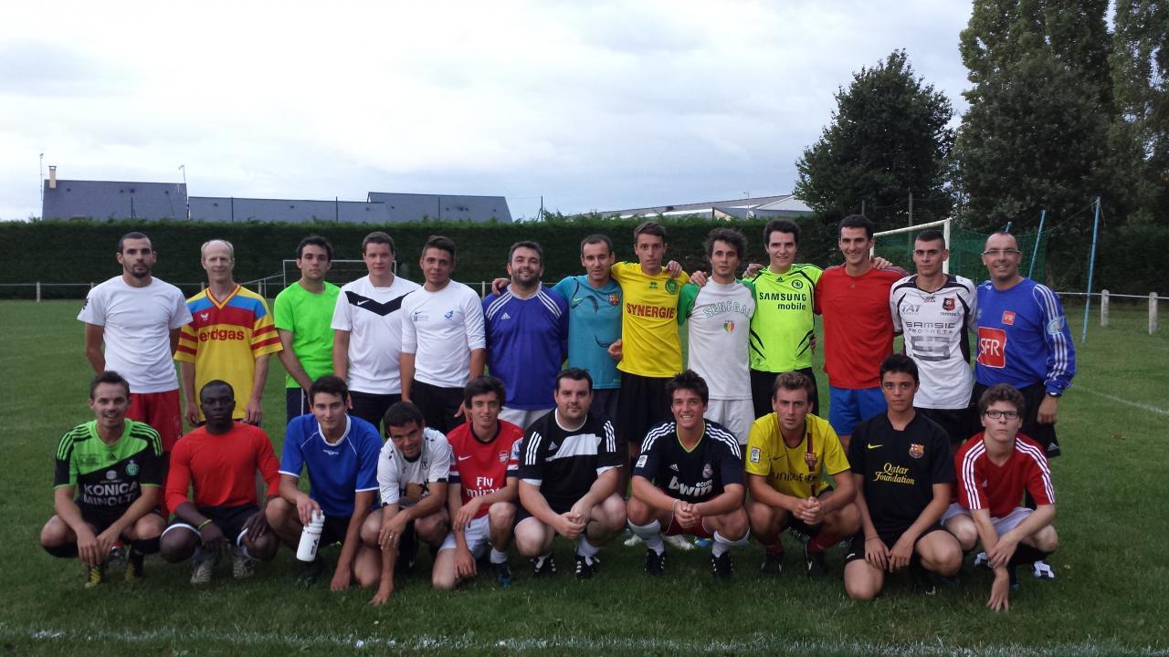 Reprise de l'entraînement sénior saison 2014-2015