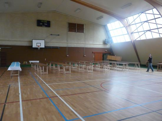 14h30:les premières tables