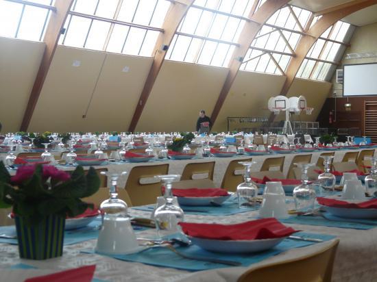 les tables enfin prêtes!