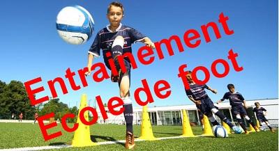 raccourci entrainement ecole de foot
